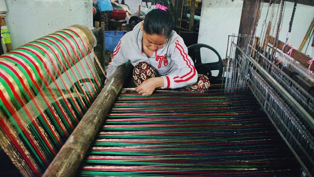 My Nghiep village,  ancient weaving village, Ninh Thuan province, brocade weaving, craft village, famous traditional craft villages