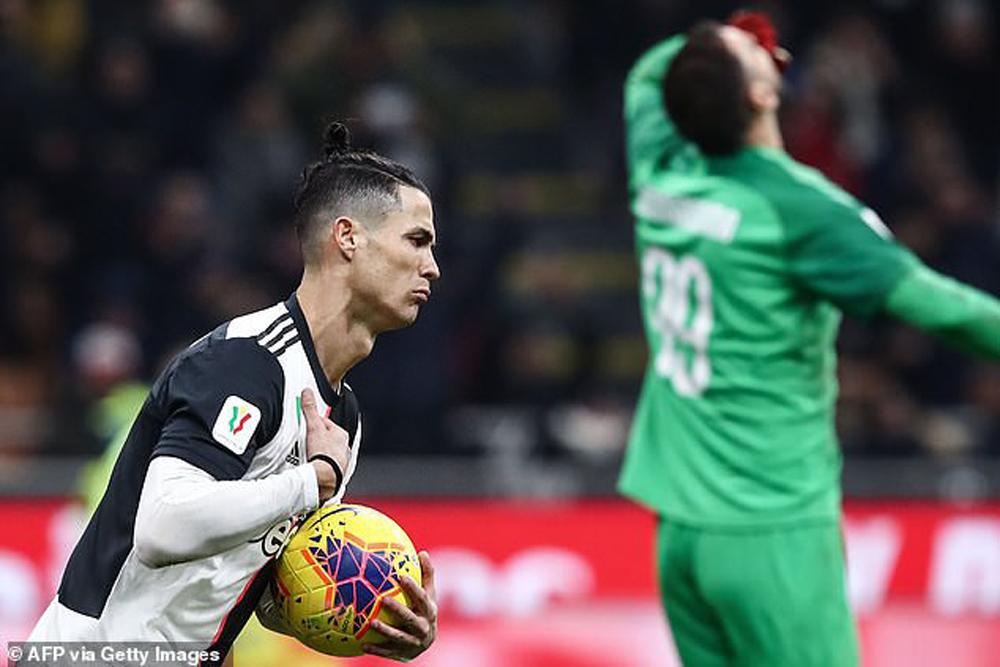 Ronaldo, Juventus, AC Milan, AC Milan 1-1 Juventus, tường thuật AC Milan 1-1 Juventus
