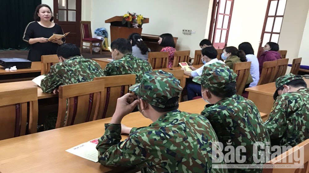 Bắc Giang: Tập huấn cấp tốc tiếng Trung cho cán bộ làm việc tại khu cách ly dịch bệnh Covid-19