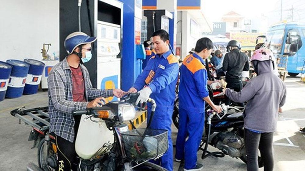 Xăng dầu, đồng loạt, giảm giá mạnh