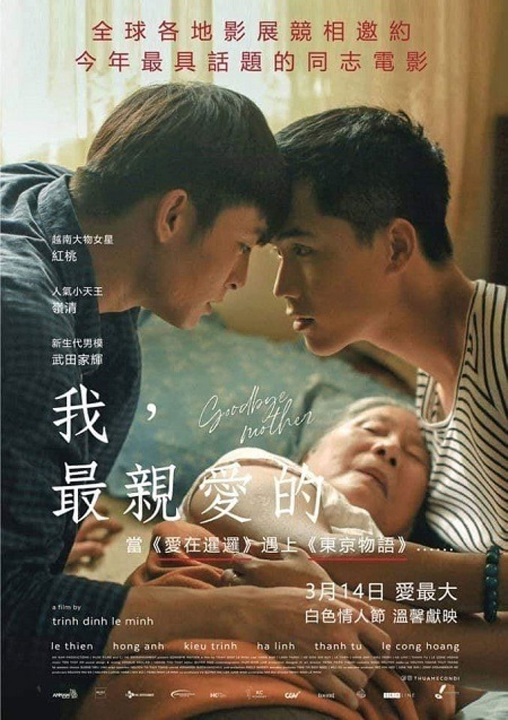Vietnamese LGBT-themed movie, Taiwan, Thua Me Con Di, Goodbye Mother, important category, Vietnamese culture