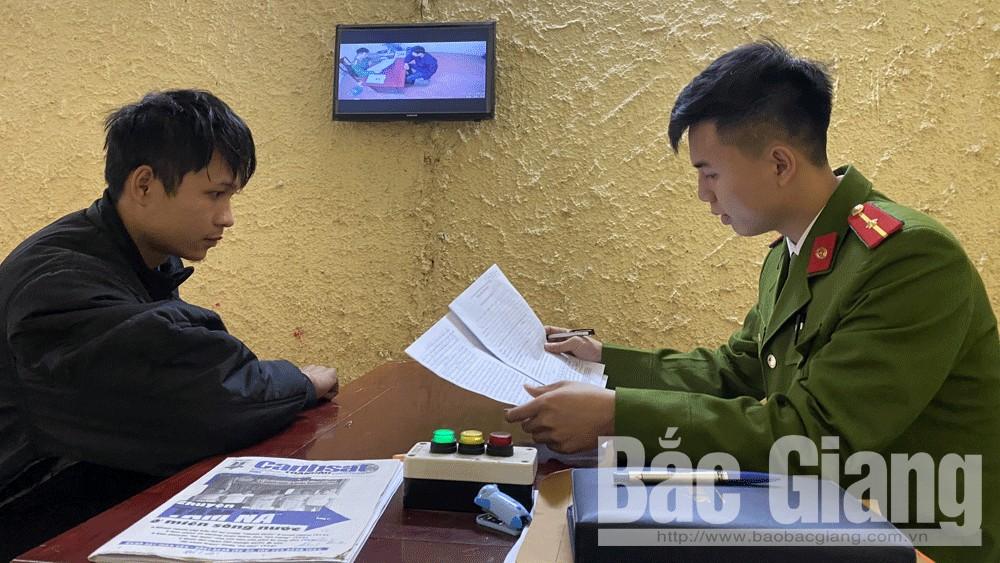 Công an TP Bắc Giang bắt đối tượng gây ra nhiều vụ cướp giật tài sản
