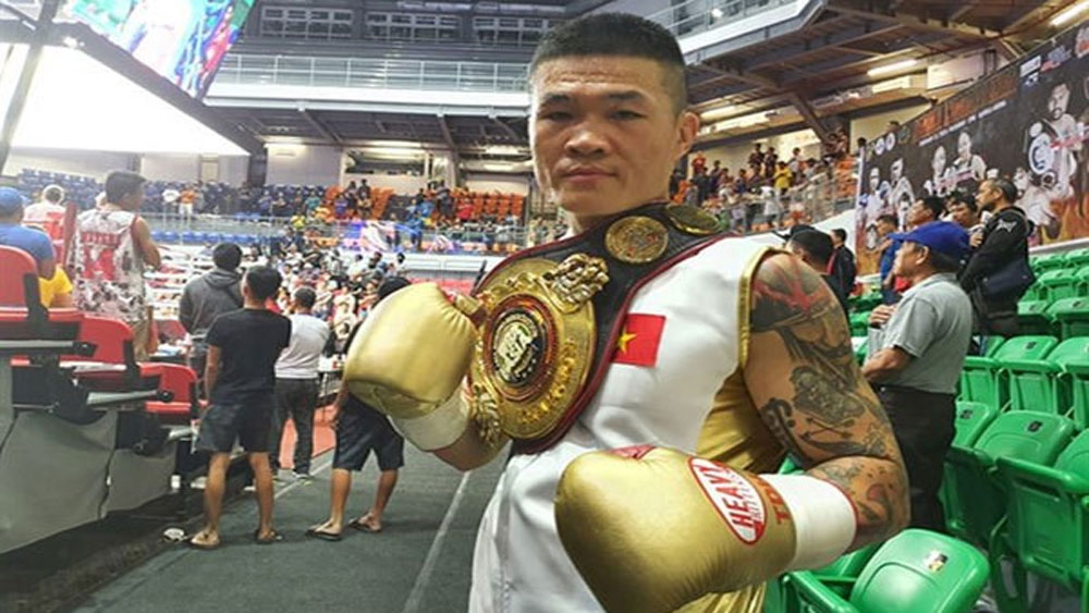 Vietnamese boxer, WBA Asia title, Boxer Truong Dinh Hoang,  World Boxing Association, super middleweight belt