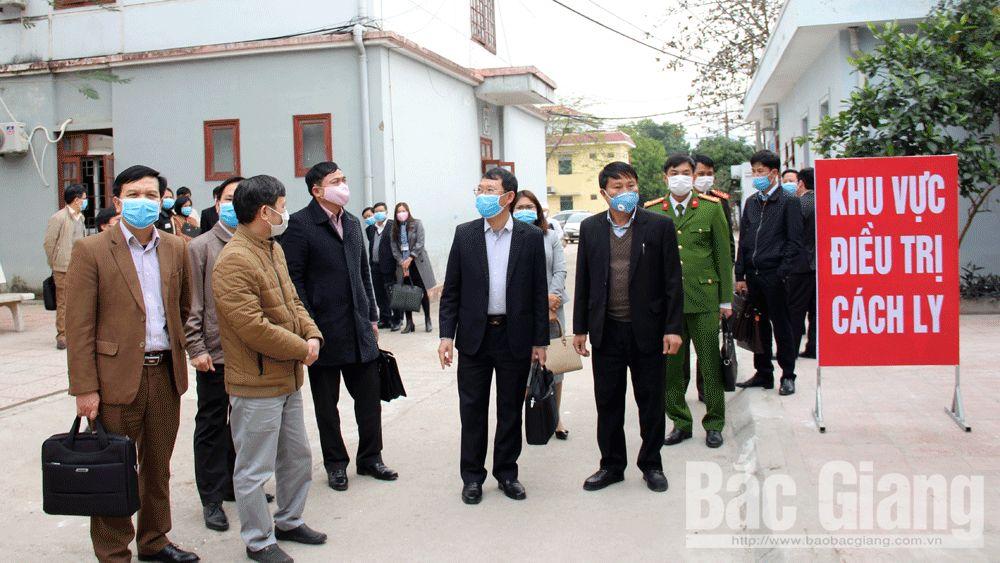 phòng dịch, covid-19, Bắc Giang, Lục Nam