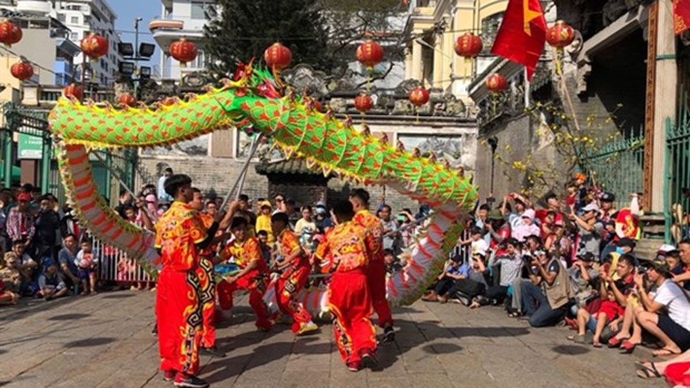 HCM City, 3rd International Dragon Dance festival, promote tourism, festival's theme,  traditional dance,  highest mountain, performing techniques