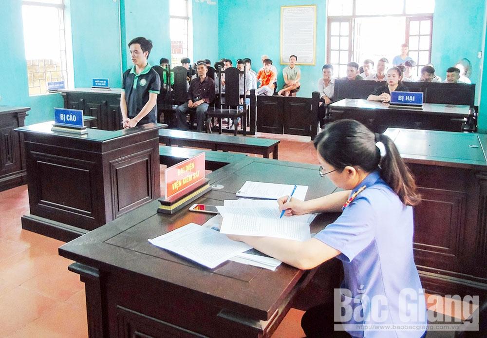 Viện Kiểm sát nhân dân, tội phạm, Bắc Giang