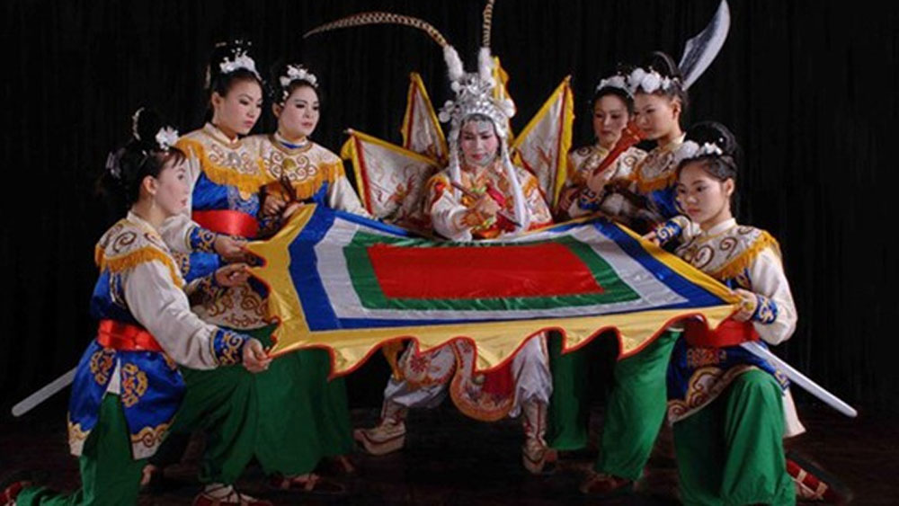 Classical Vietnamese drama performed in India