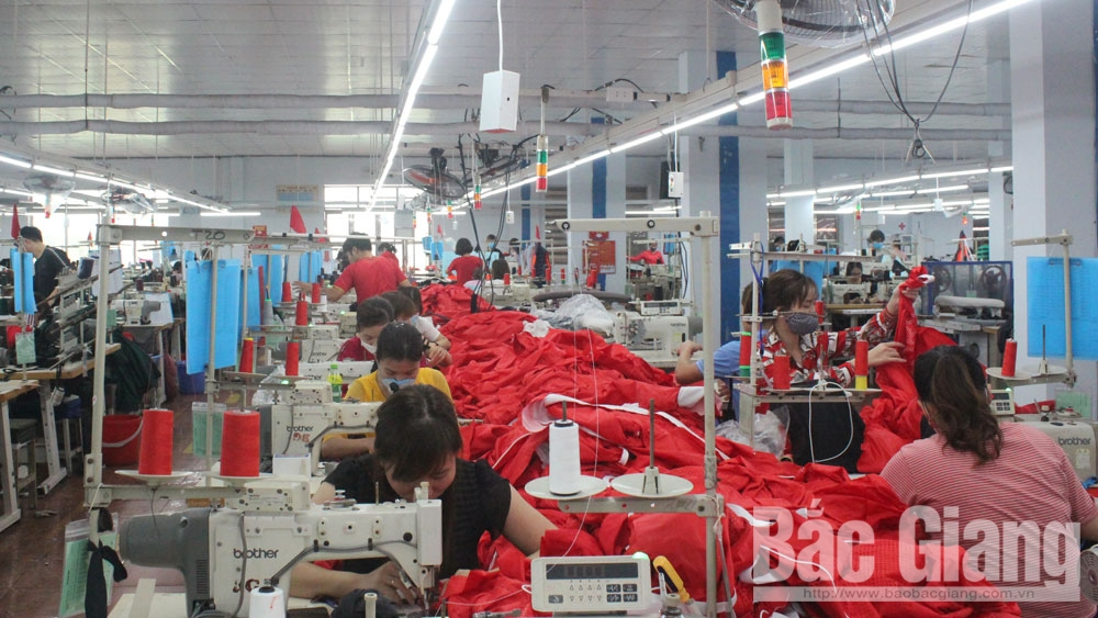 Bac Giang accompanies enterprises to overcome difficulties amid Covid-19 outbreak
