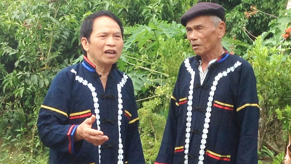 Meritorious artisan Nong Dung Long preserves Sloong hao songs