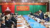 BTV Thành ủy Bắc Giang lấy ý kiến vào dự thảo (lần 2) Báo cáo chính trị trình Đại hội Đảng bộ TP nhiệm kỳ 2020-2025