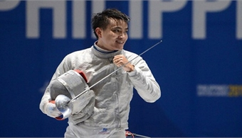 Fencer hunts Olympic points at World Cup in Poland