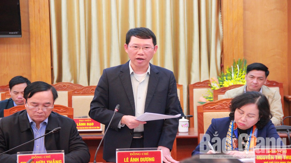 PPC Chairman, Duong Van Thai, control epidemic, stablise production, Bac Giang province, industrial production,