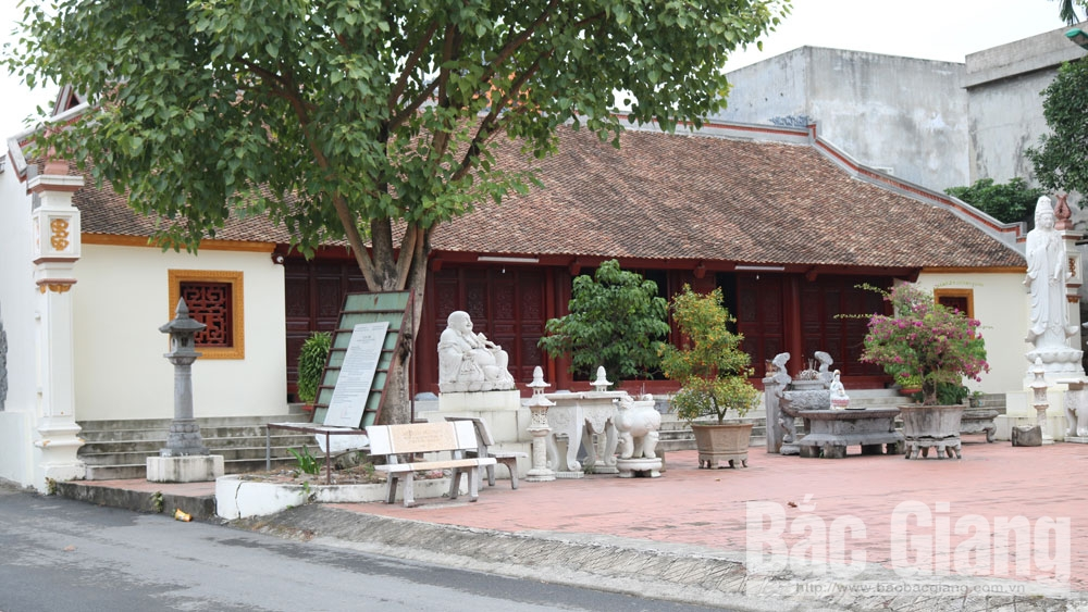 Unique cultural values of Ve Pagoda