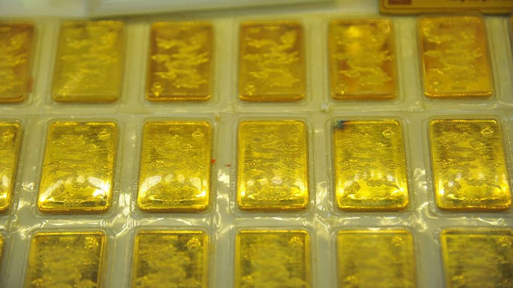 Giá vàng SJC vượt mốc 46 triệu đồng/lượng