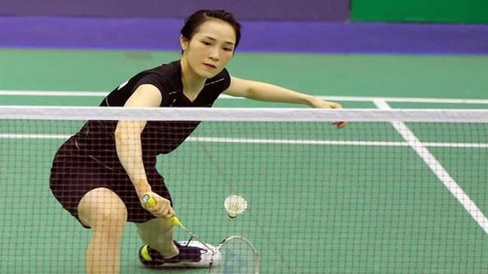 Vietnamese female badminton players, Vu Thi Trang, first round, Austrian Open, Nguyen Thuy Linh