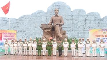 Lực lượng Công an Bắc Giang: Những chiến công và việc làm vì dân