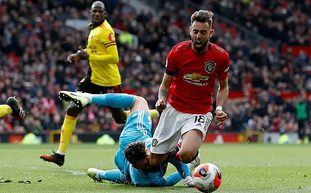 Man Utd, Watford, Bruno Fernandes