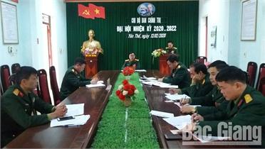 Tổ chức đại hội đảng các cấp trong Đảng bộ Quân sự tỉnh Bắc Giang: Chú trọng chuẩn bị văn kiện và nhân sự