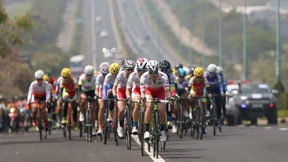 Binh Duong province, Int'l Women Cycling Tournament, Biwase Cup 2020, local female cyclists, cyclist Nguyen Thi That