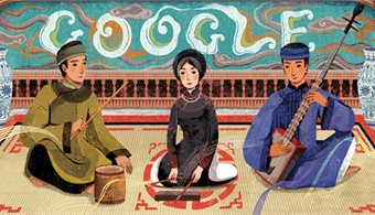Vietnam's ca tru art form gets a Google doodle