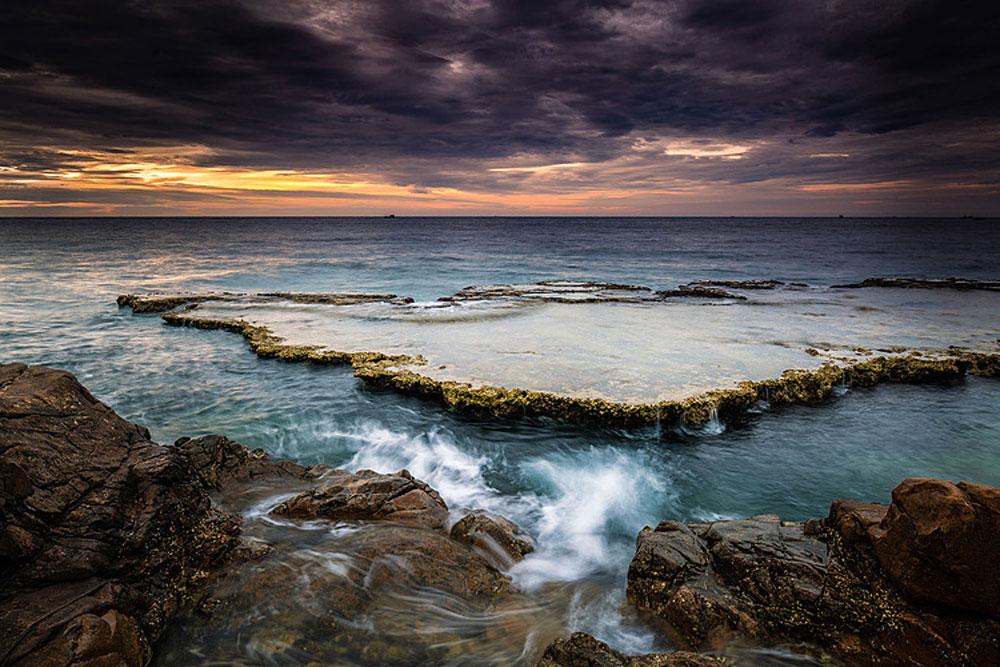 Hang Rai, pristine hideaway, central Vietnam coast, Ninh Thuan province, magnificent mix, rock formations, attractive destination