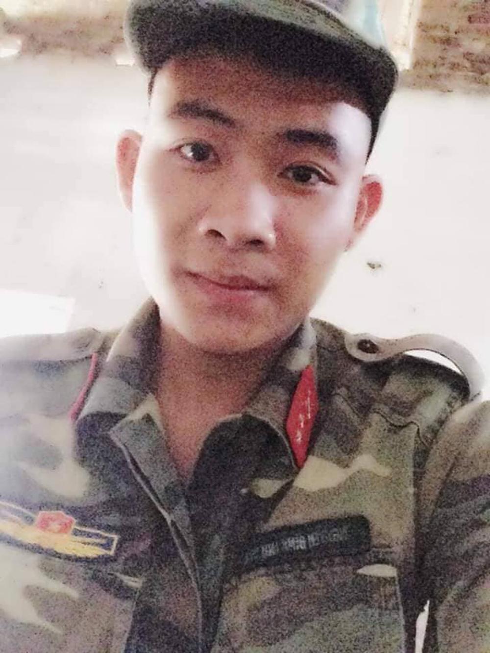 em Chu Xuân Thắng, thôn Can, xã Hương Gián, nghĩa vụ quân sự