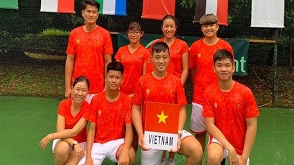 Vietnam's players to compete at Junior Davis Cup, Junior Fed Cup Asia Oceania