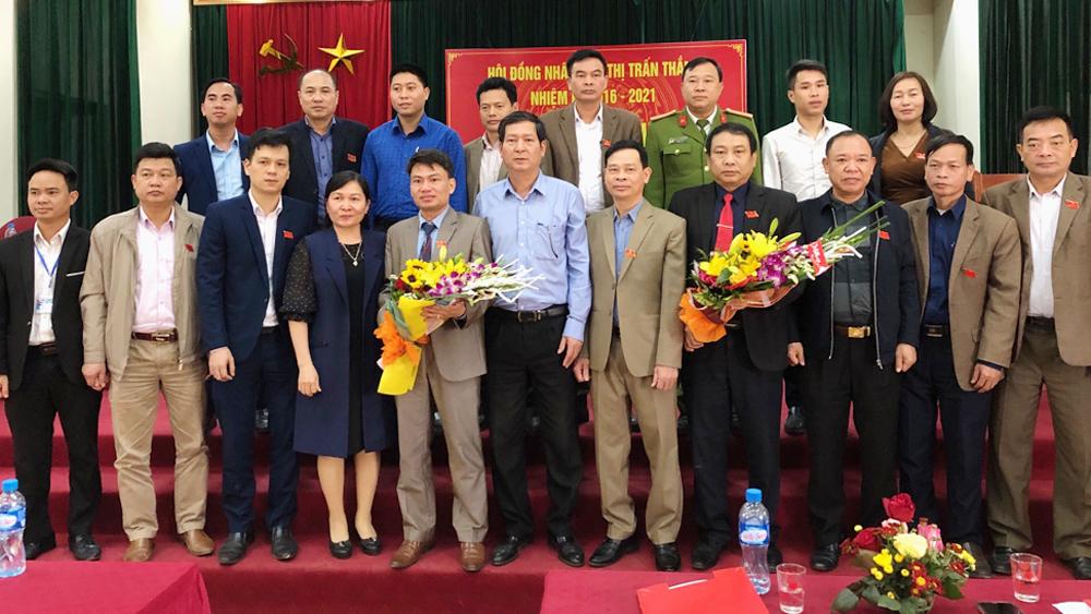 HĐND thị trấn Thắng họp phiên thứ nhất bầu các chức danh lãnh đạo chủ chốt