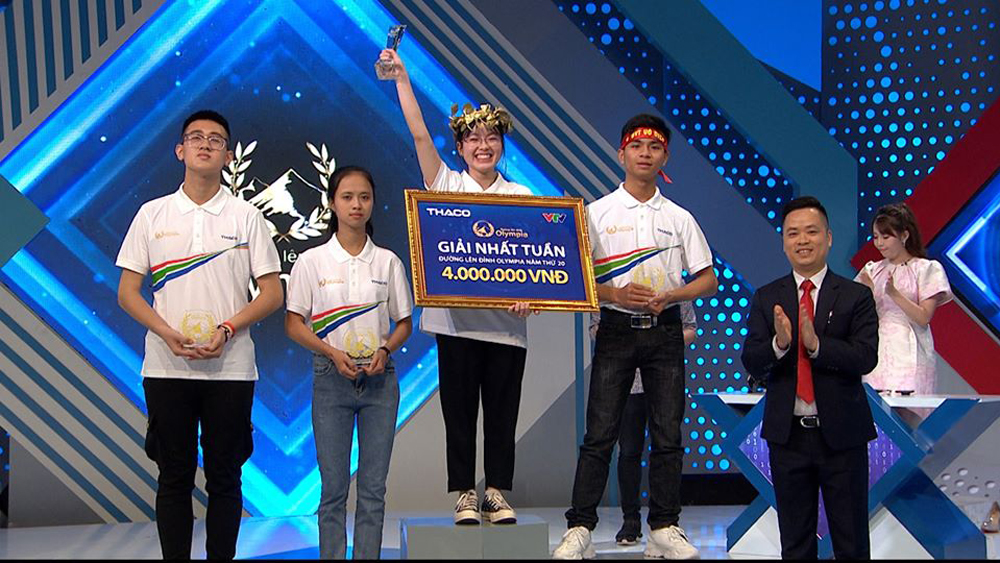 "Bac Giang contestant crowned champion at weekly round of ""The Road to Olympia"" competition"
