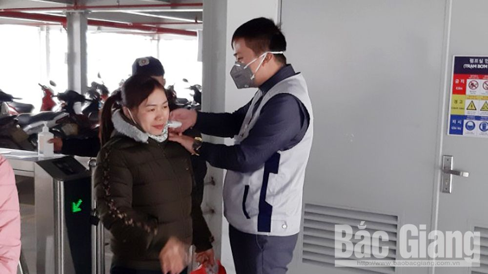 Bac Giang closely grasps number of people from RoK for health supervision