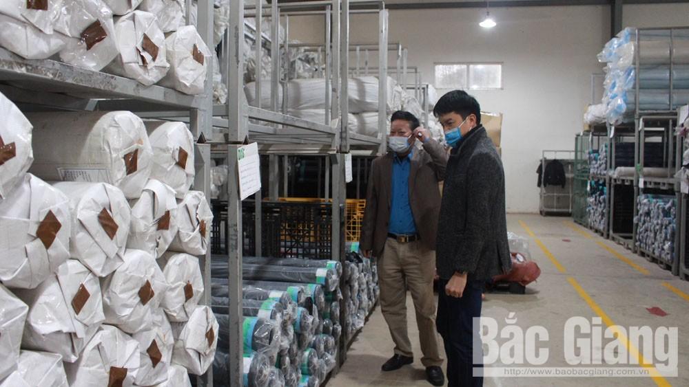 Bắc Giang:  9 doanh nghiệp cho lao động nghỉ việc luân phiên do ảnh hưởng của dịch bệnh Covid-19