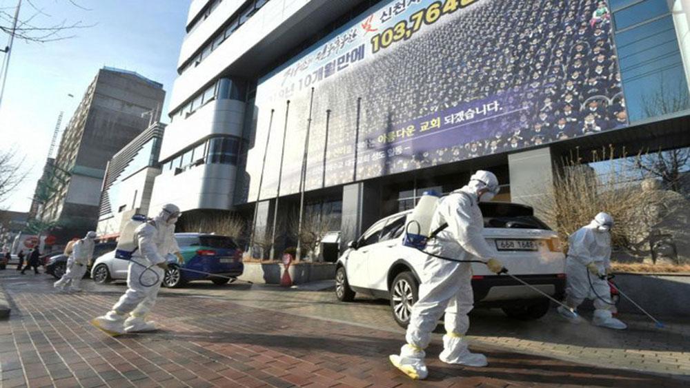 Hàn Quốc ghi nhận ca tử vong thứ 10, số người nhiễm lên gần 1.000