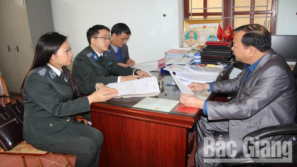 Thi hành án, Bắc Giang, pháp luật
