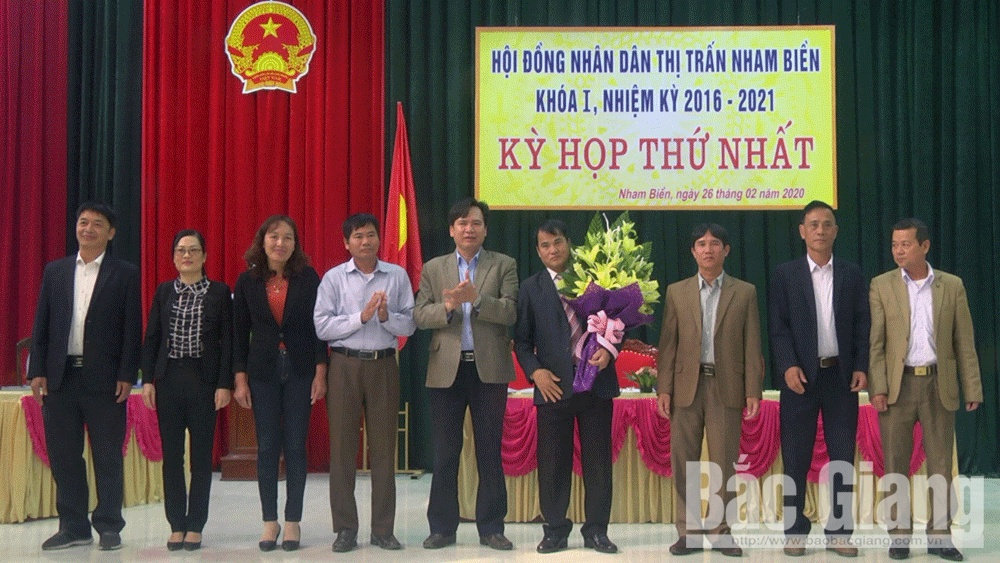 Yên Dũng, thị trấn Nham Biền, Tân An, bầu chức danh chủ chốt