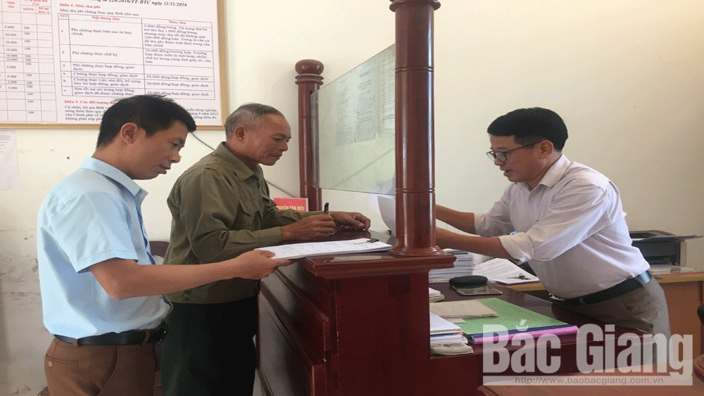 Huyện Lạng Giang (Bắc Giang) công bố xếp hạng cải cách hành chính các xã, thị trấn