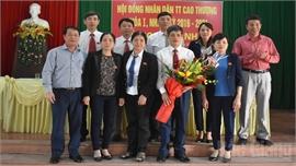 HĐND thị trấn Cao Thượng (Tân Yên) bầu các chức danh chủ chốt