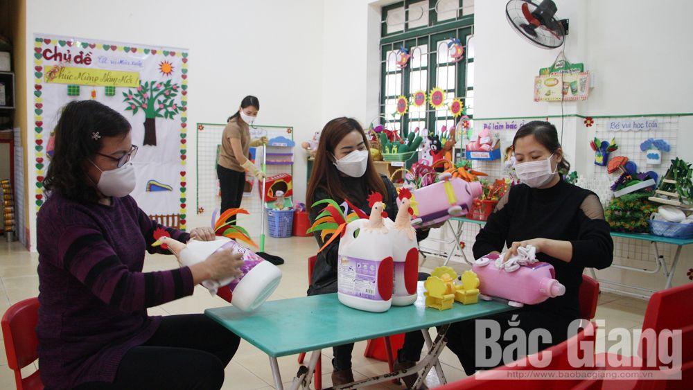 Bắc Giang: Tập trung cao phòng dịch Covid-19 khi học sinh trở lại trường