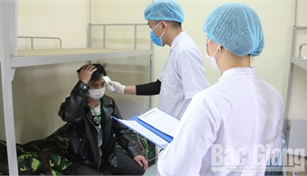 Bac Giang fosters health supervision of people coming from RoK's epidemic-hit areas