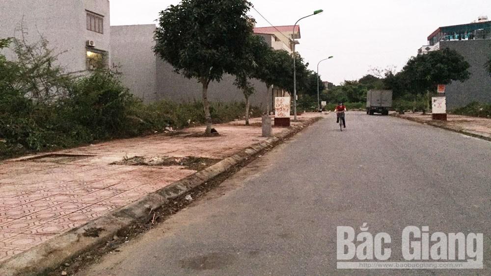 TP Bắc Giang đã khắc phục bước đầu những bất cập ở Khu đô thị mới Đồng Cửa 2
