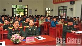 Nâng cao năng lực thực hiện công tác quốc phòng cho cán bộ quân sự cấp xã