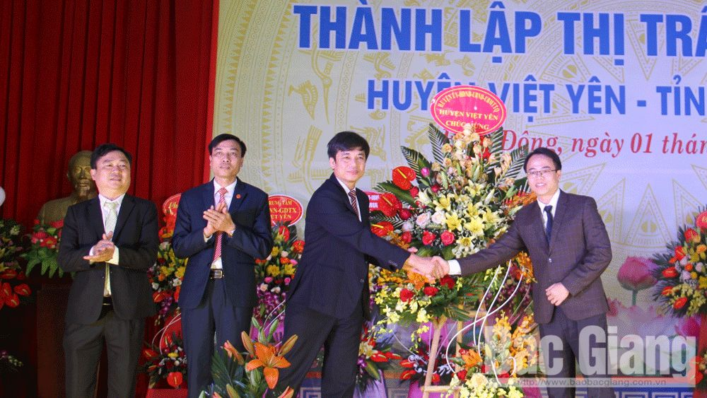 Bắc Giang: Công bố  thành lập 19 đơn vị hành chính cấp xã sau sáp nhập