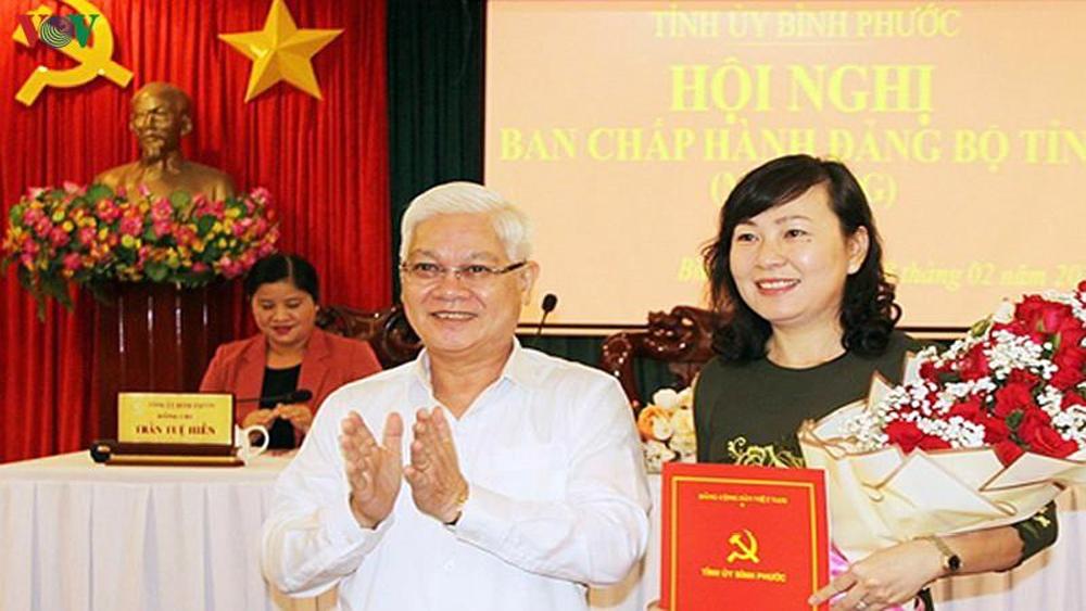 Bà Huỳnh Thị Hằng giữ chức Phó Bí thư Thường trực Tỉnh ủy Bình Phước