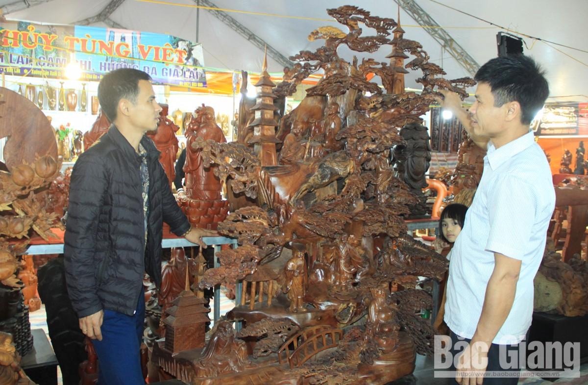 triển lãm, sản phẩm, độc lạ, đồ gỗ, mỹ nghệ