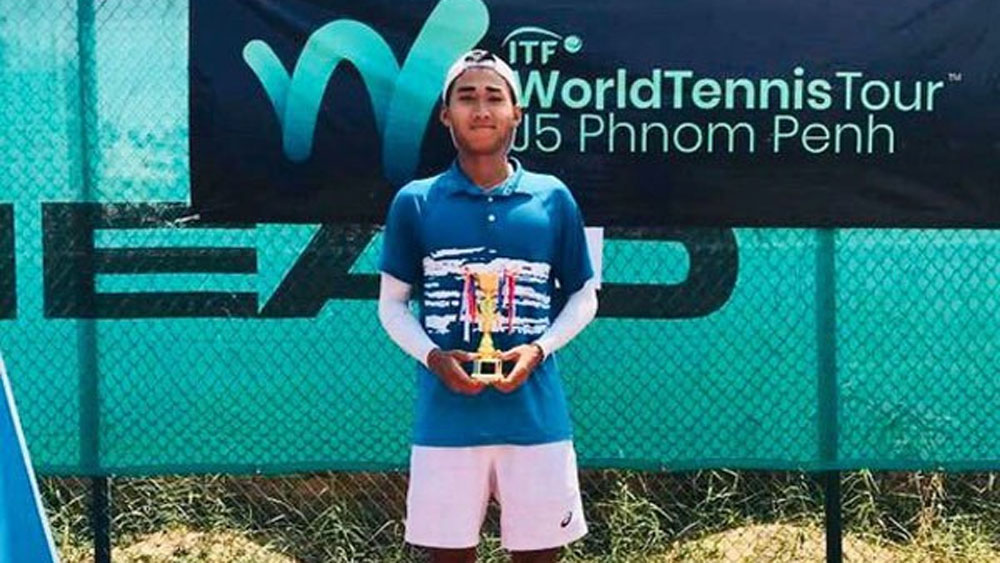 Vietnamese player finishes second at ITF U18 tournament