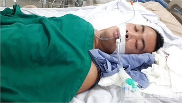 Em Chu Xuân Thắng được hỗ trợ hơn 60 triệu đồng