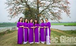 Phụ nữ Bắc Giang rực rỡ sắc màu hưởng ứng Tuần lễ Áo dài Việt Nam