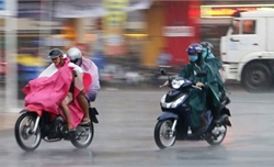 Bắc Bộ và Bắc Trung Bộ có mưa diện rộng, trời chuyển rét