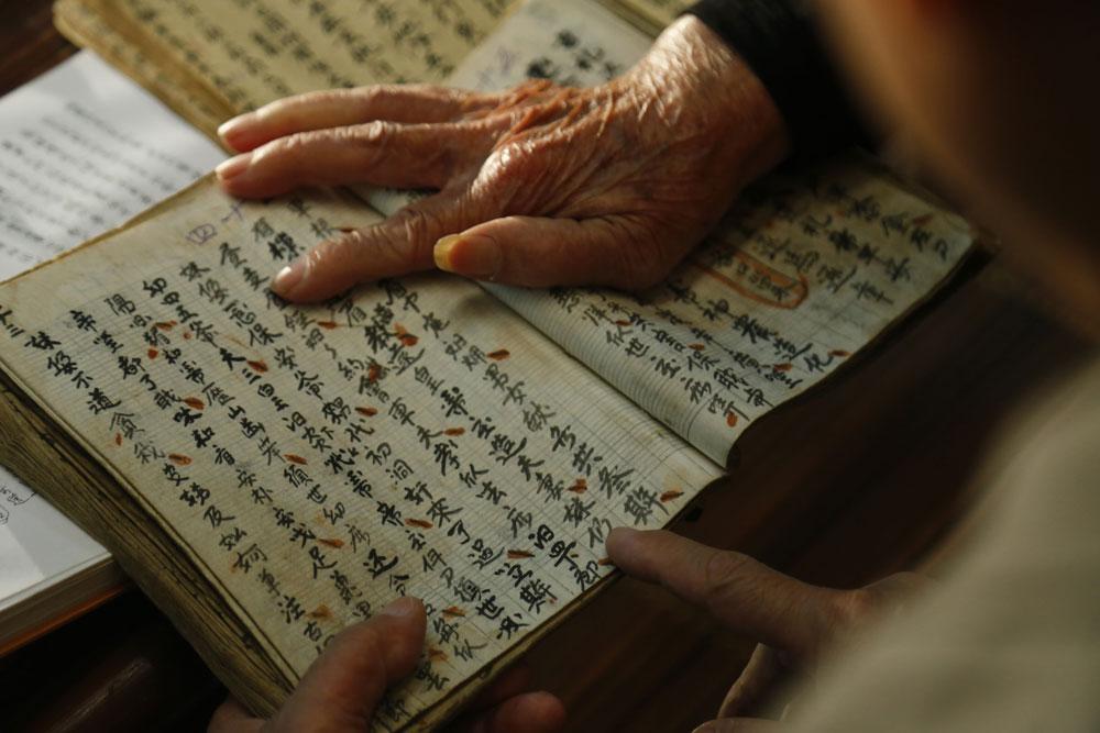 Nghệ nhân, nghiên cứu văn hóa Tày, Lương Long Vân, dân tộc Tày, Báo Bắc Giang, tỉnh Bắc Giang, cung Then cổ, kho tàng văn hóa truyền thống