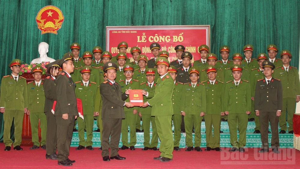 Tân Yên (Bắc Giang): Điều động 31 công an chính quy về đảm nhận các chức danh tại công an xã, thị trấn