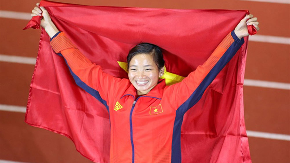 Athlete Nguyen Thi Oanh, Bac Giang province, outstanding Vietnamese Young Faces, prominent faces, Bac Giang born athlete